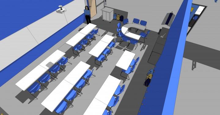 1512 Vista College Preparatory Classroom